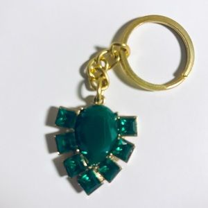 Accessories - Emerald Green keychain